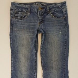 American Eagle Women Slim Boot Stretch Jeans Sz 10